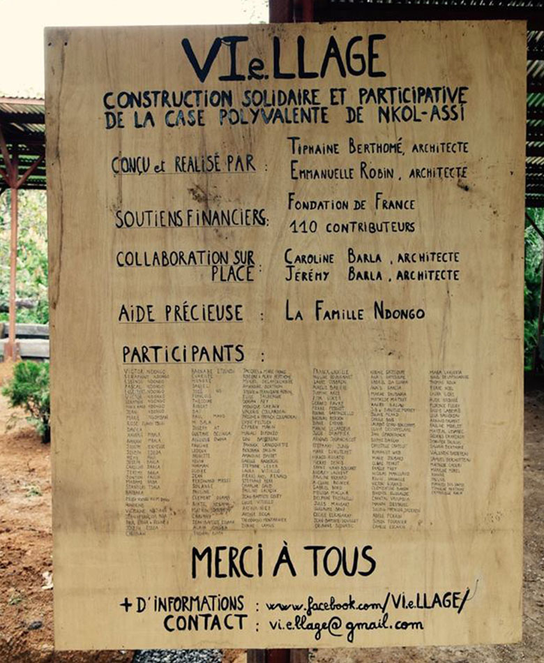 Projet Vie.llage_2_barla_architectes_Ovangoul_nkol-assi_cameroun