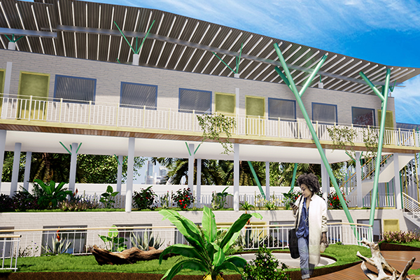 Barla Barla architecte_Pole science_savio_douala_cameroun_architecte