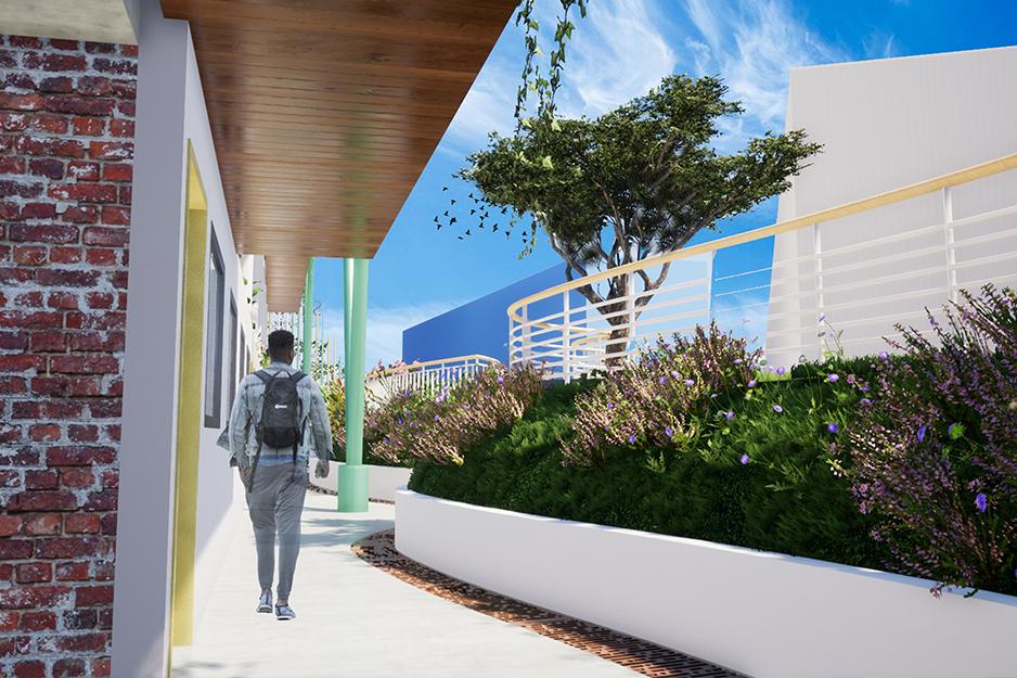 Lycée français_Dominique Savio_galerie_barla_architectes_douala_cameroun