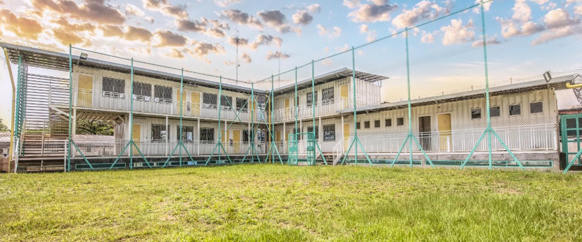 Lycée français Dominique Savio Containers_BBA_barla_architectes_douala_cameroun_1